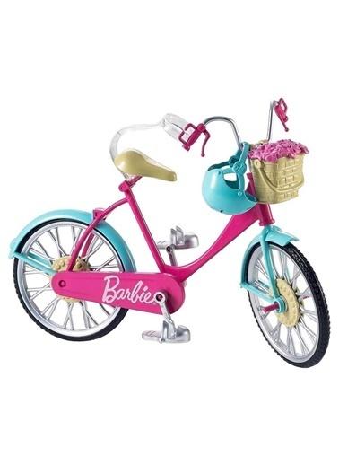 Barbie Barbie Dvx55  Kız Çocuk Barbienin Bisikleti Barbienin Hayatı Renkli